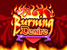 Пламенный сюжет в игровом автомате Burning Desire